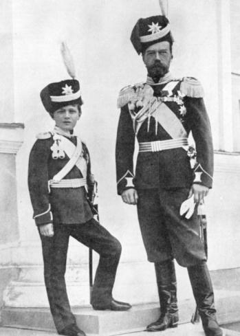 Tsar Nicholas and Alexei