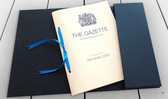 Gazette Commemorative Editions