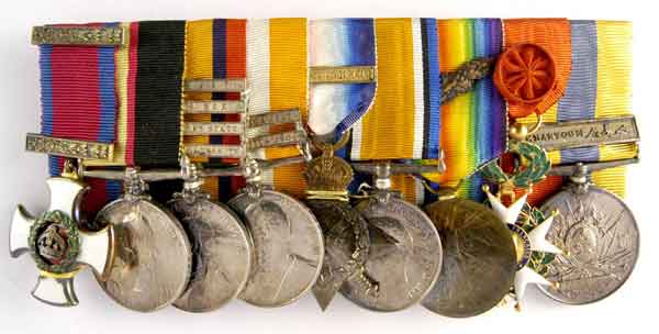 Henderson's medals