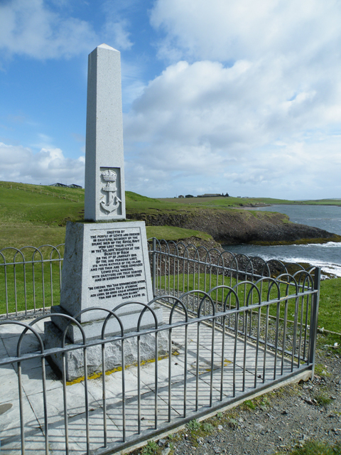 HMY Iolaire Monument Isle of Lewis