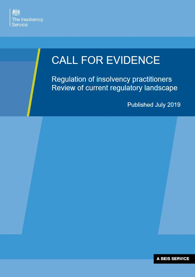 Insolvency Service consultation document