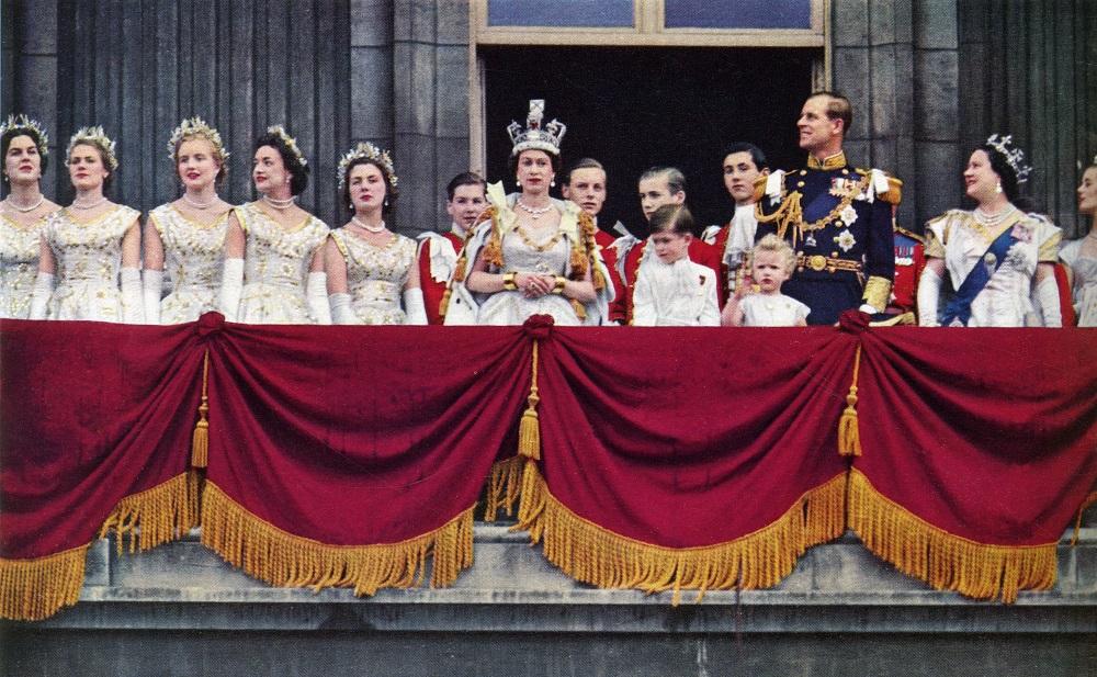 Coronation of Elizabeth II Balcony Buckingham Palace