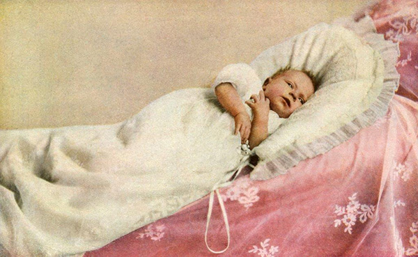 Queen Elizabeth II as a baby