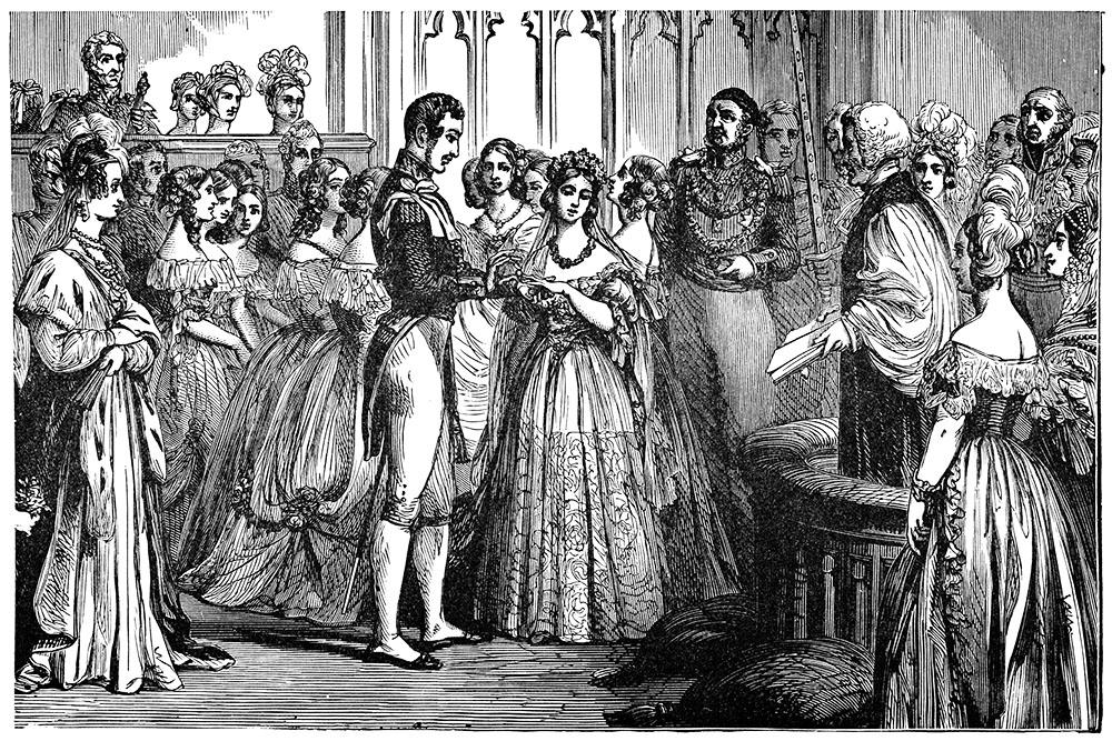 Queen Victoria Prince Albert Wedding Ceremony