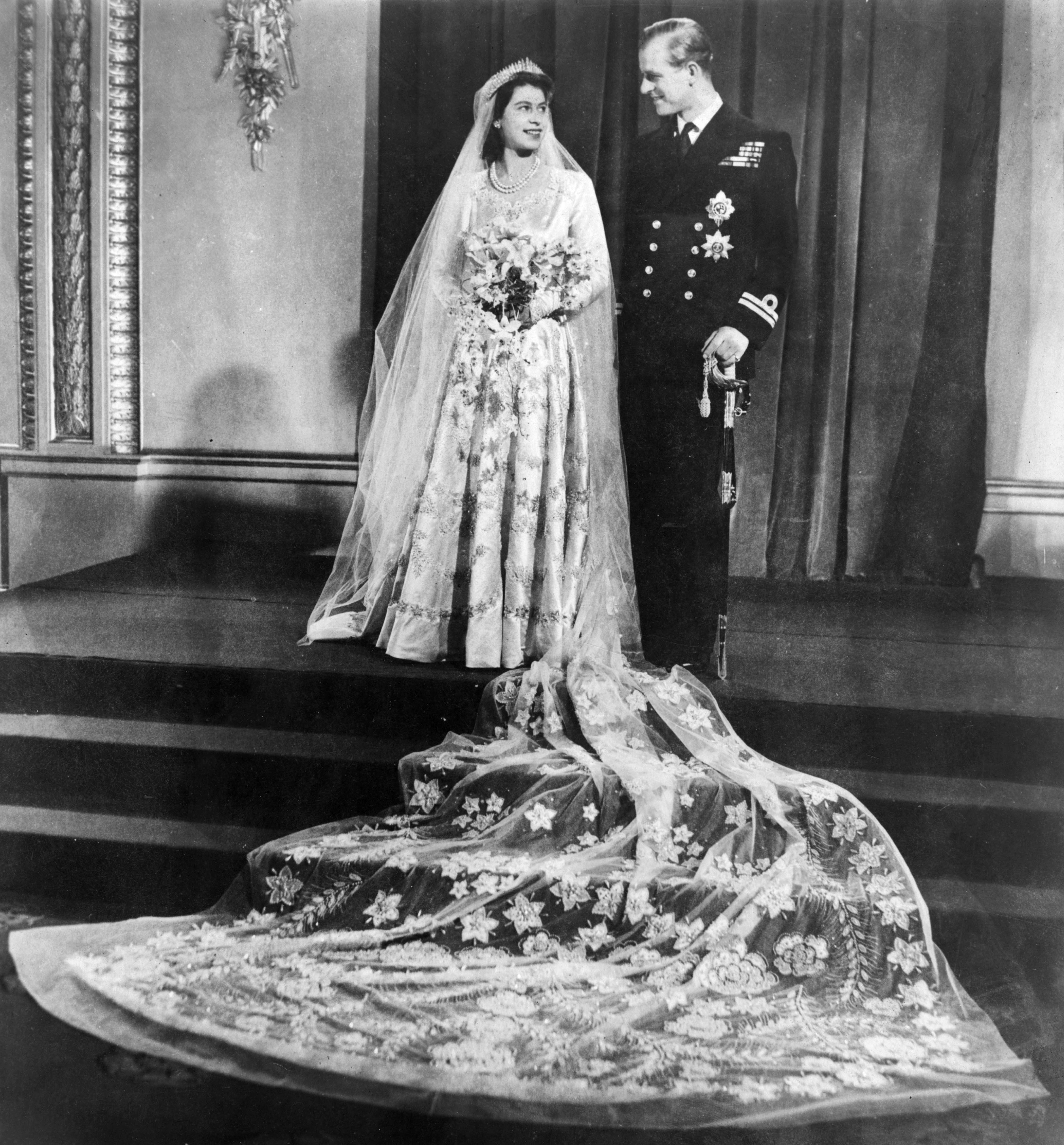 Queen Elizabeth II an Prince Philip