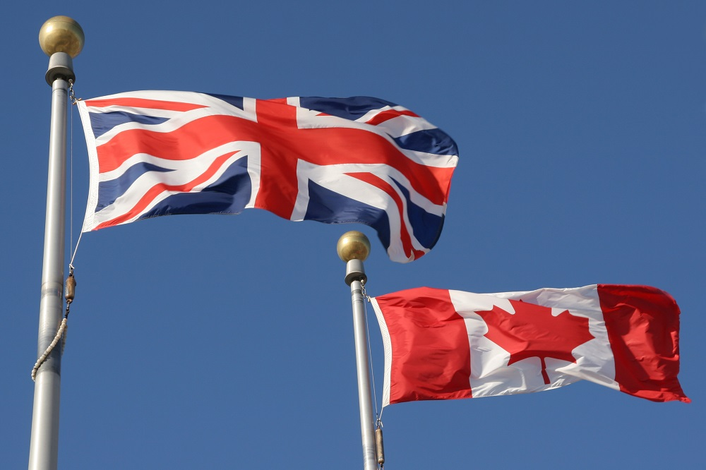 Canada UK British Honours