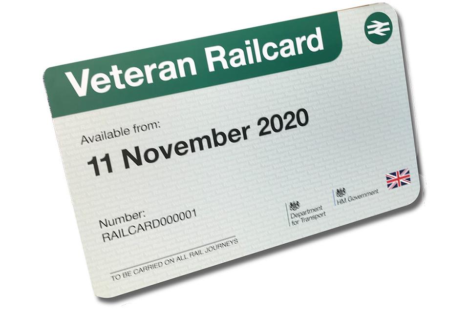 Veteran Railcard UK