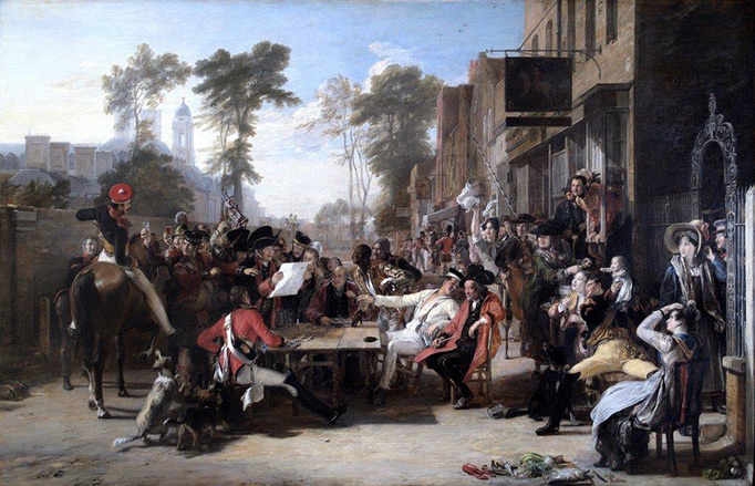 Waterloo painting