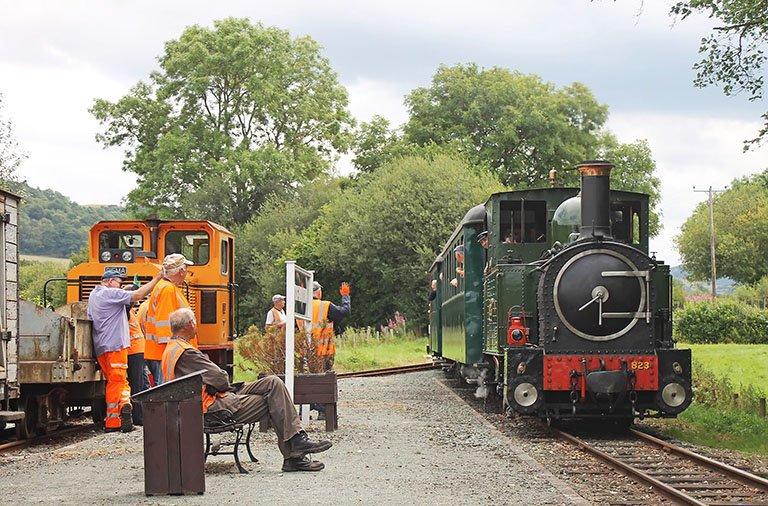 Welshpool Llanfair Light Railway